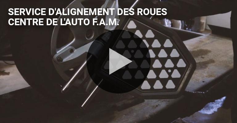 Alignement des roues - Centre auto F.A.M.